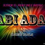 Sirah Dan Sejarah Nabi Adam a.s
