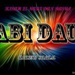 Sirah Dan Sejarah Nabi Daud a.s