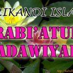 Rabiatul Adawiyyah Al – Basariyyah ( Srikandi Islam )