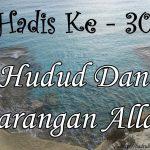 Hadis ke-30 ( Hadis 40 Imam Nawawi )