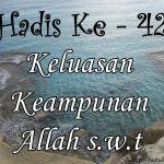 Hadis ke-42 ( Hadis 40 Imam Nawawi )
