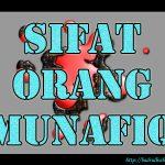 Jauhi Sifat Munafiq