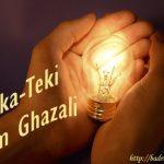 Teka-Teki Dari Imam Al-Ghazali