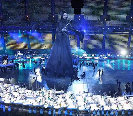 ahli sihir Penghinaan Terhadap Islam Di Pembukaan Sukan Olimpik London