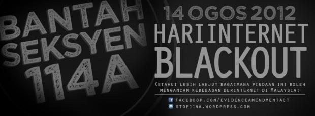 internet Internet BlackOut Day Pada 14 Ogos 2012