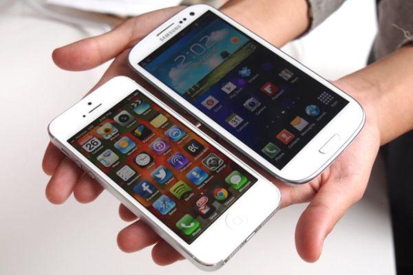 iPhone5 Dan galaxyS4