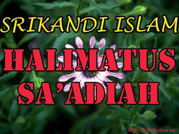 HALIMATUS-SAADIAH