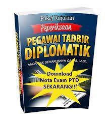 Exam Pegawai Tadbir Diplomatik M41  Exam PTD