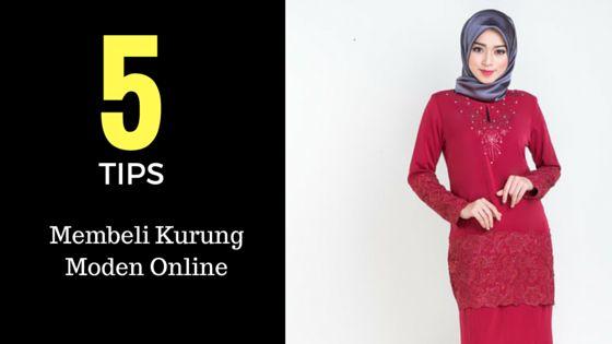 Tips Membeli Baju Kurung